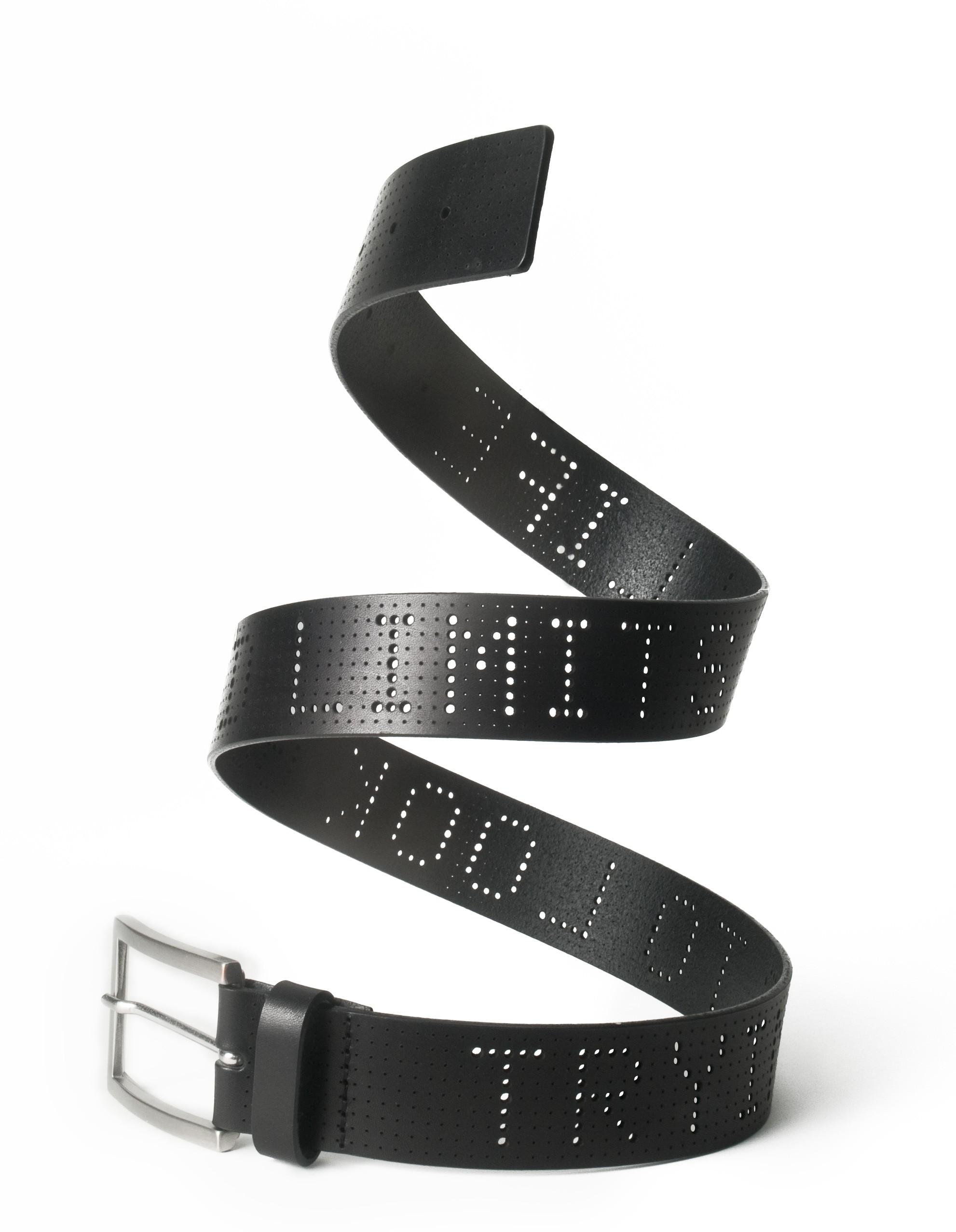 Typographic Belt